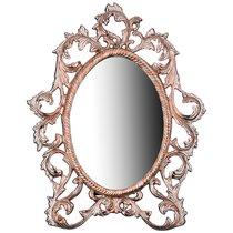 Зеркало Настольное 31X3 см Высота 40 см Латунь - ZAINCO