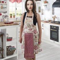 Фартук кухонный Karna с салфеткой 30x50, цвет светло-розовый - Bilge Tekstil