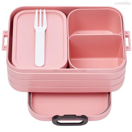 Ланч-бокс со съемными контейнерами Mepal 0,9л (розовый) - Mepal