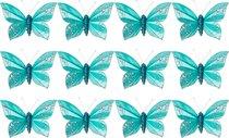 Комплект Из 12-Ти Декоративных Изделий На Клипсе Бабочки 10 см - Huajing Plastic Flower Factory