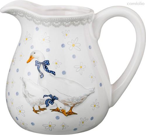 Кувшин Чешский Гусь 900 мл 15x12,6x15 см - Zhenfeng Ceramics