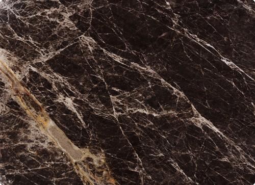 Доска разделочная стеклянная Мрамор Император Голд 40х30 см - Top Art Studio
