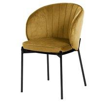 Кресло Coral, велюр, светло-коричневое, цвет светло-коричневый - Berg