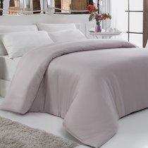 Пододеяльник сатин Karna Servan, цвет серый, размер 200x220 - Karna (Bilge Tekstil)