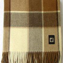 Плед INCALPACA (55% шерсть альпака, 45% шерсть мериноса) PP-23, цвет коричневый, 150 x 200 - Incalpaca TPX