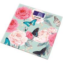 Весы Напольные Бабочки Hottek Ht-962-011 30X30 см МаксВес 180Кг - Keyon