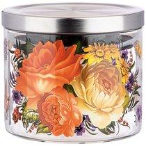 Емкость для сыпучих agness роскошный сад, 520 мл боросиликатное стекло - Agness