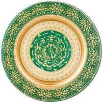 Тарелка «Jasmin» Green 21 Cm Без Упаковки - Akcam