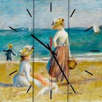 Фигуры на пляже 30х30 см, 30x30 см - Dom Korleone