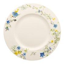 """Тарелка закусочная с бортом 23см """"Альпийские цветы"""" - Rosenthal"""