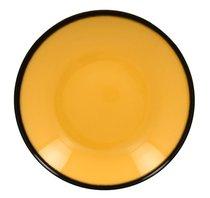 Тарелка-салатник, 26 см, высота 5 см, 1,2 л (желтый цвет) - RAK Porcelain