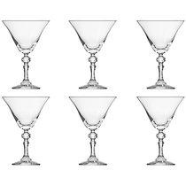 """Набор бокалов для мартини Krosno """"Криста"""" 170мл, 6 шт - Krosno"""