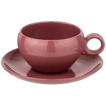 Чайный Набор На 1Пер. 2Пр. Fusion 290 мл,Брусничный 4 шт. - Porcelain Manufacturing Factory