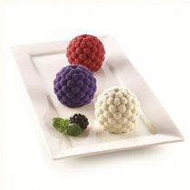 Форма для приготовления пирожных Segreti del Bosco 18 х 34 см силиконовая - Silikomart