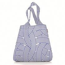 Сумка складная Mini maxi shopper zebra blue - Reisenthel