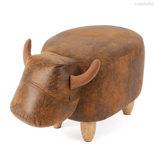 Пуф дизайнерский La Vache коричневый, цвет коричневый - Balvi