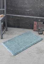 """Коврик для ванной """"KARNA"""" TRENDY 50x80 см 1/1, цвет голубой, 50x80 - Bilge Tekstil"""