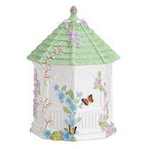 """Банка для печенья 25см """"Бабочки на лугу"""" (беседка) - Lenox"""