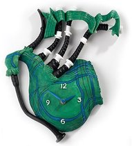 Часы Зелёная волынка 30см - Enesco