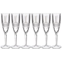 Набор Бокалов Brillante Для Шампанского Из 6 Шт 190Мл Высота 23 см - RCR