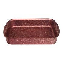 Форма Agness Премиум Red Queen Прямоугольная 30Х22X6 см, Трехслойное Покр Granit, Pfoa Free - ISFA Metal Tekstil