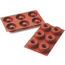Форма для приготовления пончиков Donuts ?7,5/2,5 см силиконовая - Silikomart