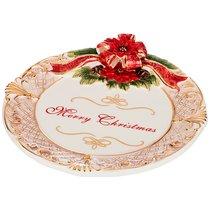 Блюдо Круглое Christmas 23x4, 5 См - Hebei Grinding Wheel Factory