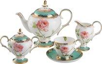 Чайный Сервиз Амелия На 6 Персон 15 Пр1000/250/200/300 Мл - Porcelain Manufacturing Factory