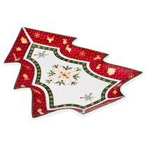 Блюдо Christmas Collection 26*21 см Высота 3 см - Chanzhou Cheerful Porcelain