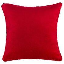 Подушка Декоративная Фьюжен,40Х40См,Красный,100%Пэ - Santalino