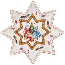 Салатник Christmas Collection Диаметр 32 см Высота 6 см - Cheerful Porcelain
