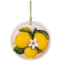 Панно Настенное Лимоны Диаметр 14 см. - Ceramiche d'Arte F.L.