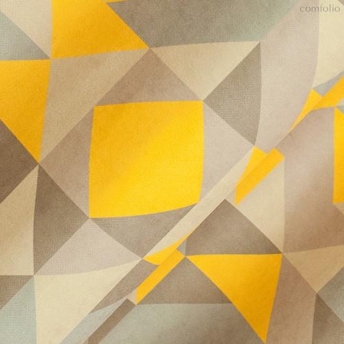 Ткань хлопок Кордильеры ширина 220 см/ 2143/1, цвет горчичный - Altali