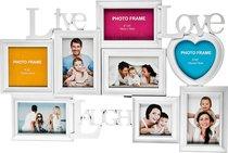 Фоторамка-Коллаж 63x41 см На 8 Фото 10x15/13x13/10x10 см - Polite Crafts&Gifts