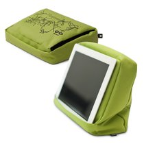 Подушка-подставка с карманом для планшета Hitech 2 зеленая-черная - Bosign