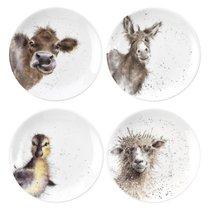 "Набор тарелок десертных Royal Worcester ""Забавная фауна"" 16,5см, 4шт, костяной фарфор - Royal Worcester"
