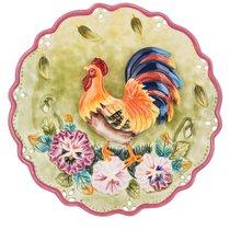 Тарелка Настенная Декоративная Петух Диаметр 21 см - Hebei Grinding Wheel Factory