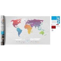 Карта Travel Map Air World - 1DEA.me