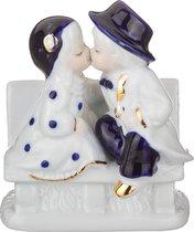 Статуэтка Поцелуй 10x6 см Высота 12 см Серия Blau Weiss - Jinding