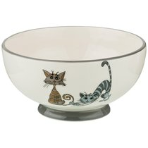 Салатник Коллекция Озорные Коты 500 мл 14,5x7. 5 см - Hongda Ceramics