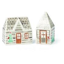 """Набор для соли и перца Lenox """"Волшебный лес"""" 7,5см (домики) - Lenox"""