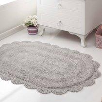 Коврик для ванной Diana, кружевной, цвет серый, 50x80 - Bilge Tekstil