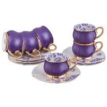 Чайный Набор Вайолет На 6 Персон, 12 Пр. 230 мл - Porcelain Manufacturing Factory