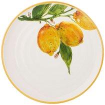 Тарелка Закусочная Cuore Limoni 23 см Без Упаковки - Ceramica Cuore