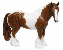 Лошадь бело-коричневая 16*15 см - The Leonardo Collection