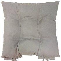 "Подушка на стул ""Titanium"", 41х41 см, P705-Z155/1, цвет серый - Altali"