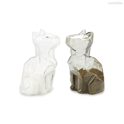Солонка и перечница Sphinx Cats, цвет прозрачный - Balvi