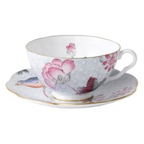 Чашка чайная с блюдцем Wedgwood Кукушка 180 мл - Wedgwood