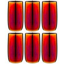 Набор 6 стаканов 330 мл королевская фуксия - Glasstar