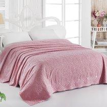 Простынь махровая Karna Esra, цвет розовый, размер 200x220 - Karna (Bilge Tekstil)